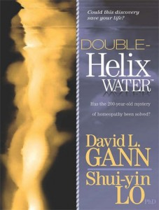 Double Helix Water Book